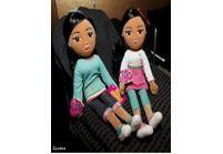 Des poupées à l'effigie de Malia et Sasha Obama