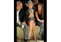 Fashion Week de Londres : Kate Moss chahute au 1er rang