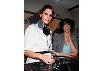 Fashion Week Londres : Agyness Deyn et Alexa Chung, DJettes