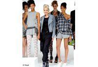 Gwen Stefani : top d'un jour à la Fashion Week de NY