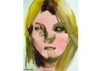 Kate Moss revisitée en peinture