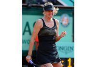 La Russe Maria Sharapova remporte Roland-Garros