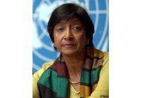 Navanethem Pillay et les droits de l'homme