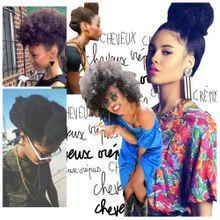 Cheveux Crépus : 20 Idées De Coiffures Simples Mais...