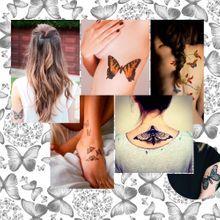 Tatouage Papillon : 20 Jolies Idées Repérées Sur Pi...