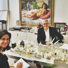 Dans Le Bureau De… François Demachy, Parfumeur Créa...