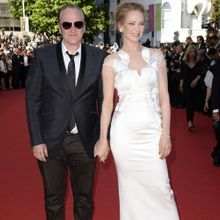 Cannes 2014 : Uma Thurman Et Quentin Tarantino Star...