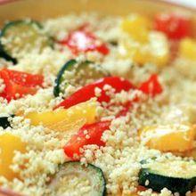 « Couscous » Minute Aux Légumes