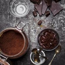 Mousse Chocolat-pomme
