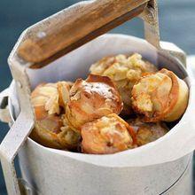 Muffins Marbrés Au Reblochon Et Amandes