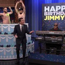 L'incroyable surprise de James Franco à Jimmy Fallon pour son anniversaire