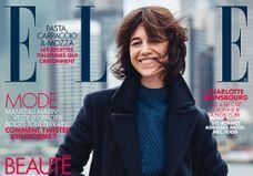 Charlotte Gainsbourg : la plus parisienne des New-Yorkaises en couverture de ELLE