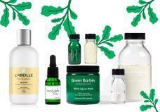 12 produits que l'on s'offre pour une routine green