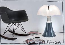 #ELLEDécoCrush : l'iconique lampe Pipistrello relookée pour l'automne !