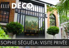 #ELLEDécoInside : découvrez la fabuleuse maison exotique chic de Sophie Séguéla