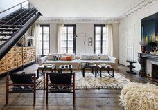 Un duplex parisien aux accents bohèmes