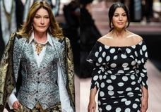 Carla Bruni et Monica Bellucci : supermodels pour Dolce & Gabbana