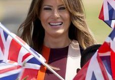Melania Trump fait son tour d'Europe