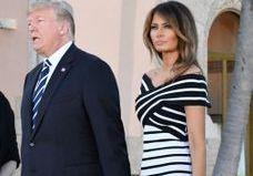Melania Trump porte de nouveau une robe et la raison est étonnante