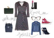 Comment porter la robe portefeuille en restant cool