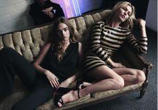 L'instant mode : Kate Moss et Cara Delevingne à nouveau réunies pour Mango