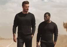#PrêtàLiker : David Beckham et Kevin Hart à nouveau réunis pour H&M
