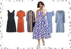 20 robes mi-longues qui font une jolie silhouette