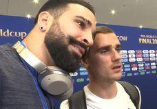 La vidéo hilarante et surréaliste d'Antoine Griezmann et Adil Rami le lendemain de la finale