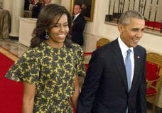 Michelle Obama a autorisé une petite incartade à Barack Obama