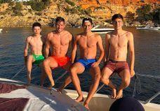 Zidane : les photos de ses fils, ses petits sosies, en vacances à Ibiza !