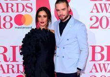 Liam Payne et Cheryl Cole en couple et toujours très amoureux sur le tapis rouge des Brit Awards