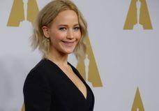 Oscars 2016 : Jennifer Lawrence, Leonardo DiCaprio et Lady Gaga au déjeuner des nommés