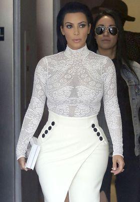 Dans la bibliothèque de Kim Kardashian
