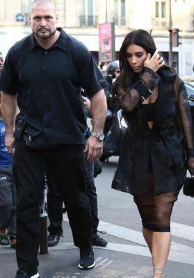 Le garde du corps de Kim Kardashian s'exprime pour la première fois
