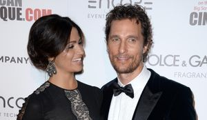 Le tout-Hollywood honore la carrière de Matthew McConaughey
