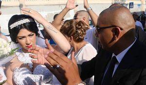 Des manifestants s'opposent à un mariage mixte en Israël