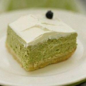 Cheesecake au matcha