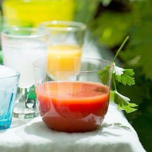 Soupe glacée tomate piment