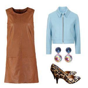 Cool en robe en cuir : 3 silhouettes pour y arriver