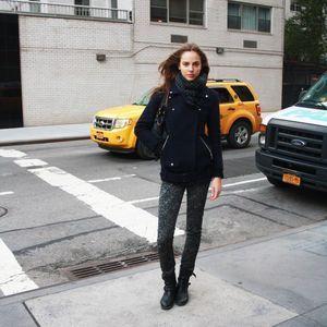 Street style : une journée d'automne à New York