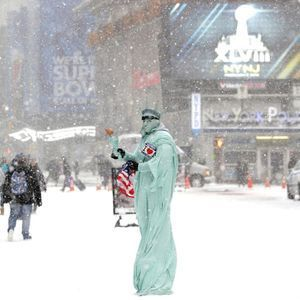 New York sous la neige : 10 photos incroyables