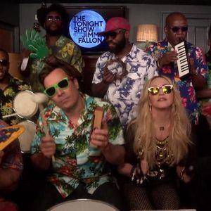 #PrêtàLiker : Madonna Reprend «Holiday» Avec Jimmy...