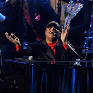 Stevie Wonder Et Prince Réunis Lors D'un Concert Pr...