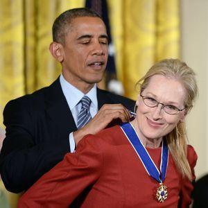 Barack Obamaavoue Publiquement Son Amour À Meryl S...