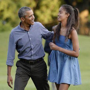 Barack Obama N'est Pas Inquiet Que Ses Filles Soien...