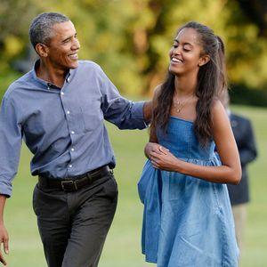 Barack Obama, Triste De Voir Sa Fille Malia Partir...