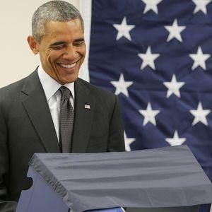 Quand Un Homme Somme Obama De «ne Pas Toucher Sa C...