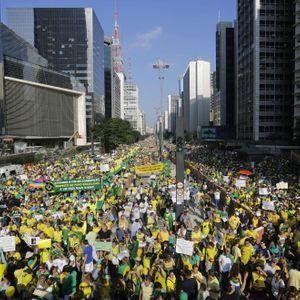 Brésil : Des Manifestations Pour La Destitution De...