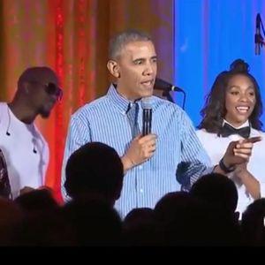 #PrêtàLiker : Barack Obama Chante Pour L'anniversai...