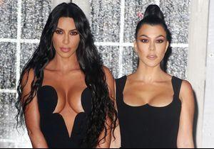 Kim Kardashian et Kourtney méconnaissables : le produit qui a transformé leurs visages